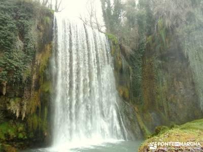 Parque Natural Monasterio de Piedra; iniciación senderismo; rutas montaña cerca madrid;rutas en av